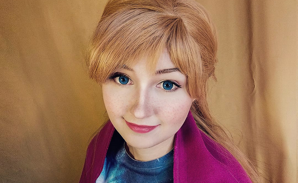 Frozen Anna Cosplay by sorel_amy