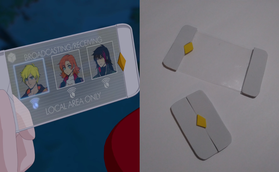 Make Your Own: Scroll Communicator from RWBY