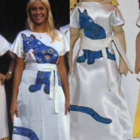 Make Your Own: ABBA Cat Dresses