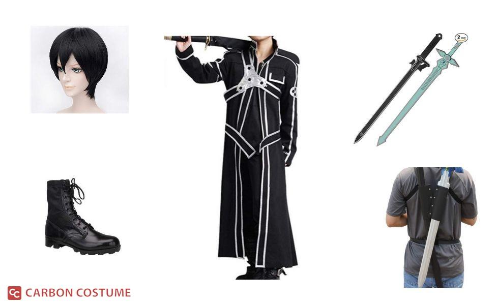 Kirito from Sword Art Online Costume
