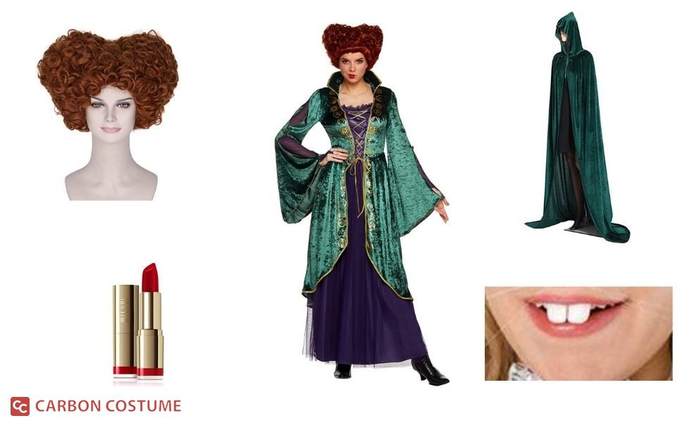 Winifred Sanderson from Hocus Pocus Costume