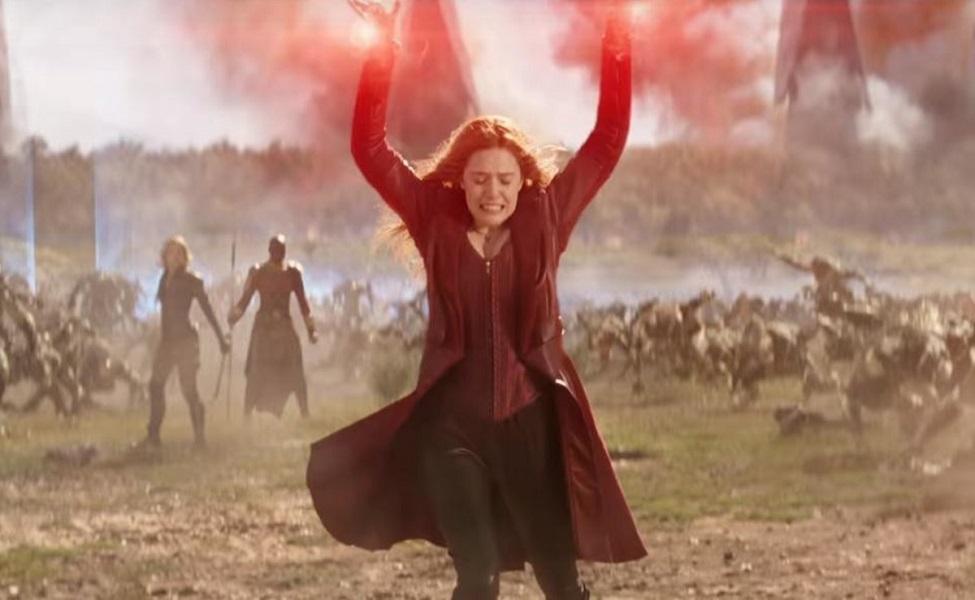 Wanda Maximoff in Avengers: Infinity War