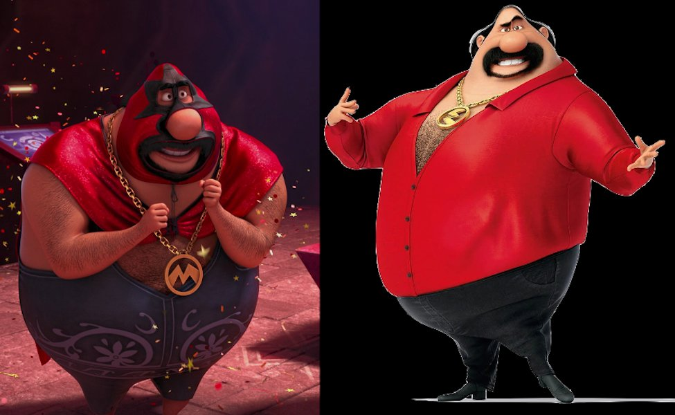 El Macho from Despicable Me 2