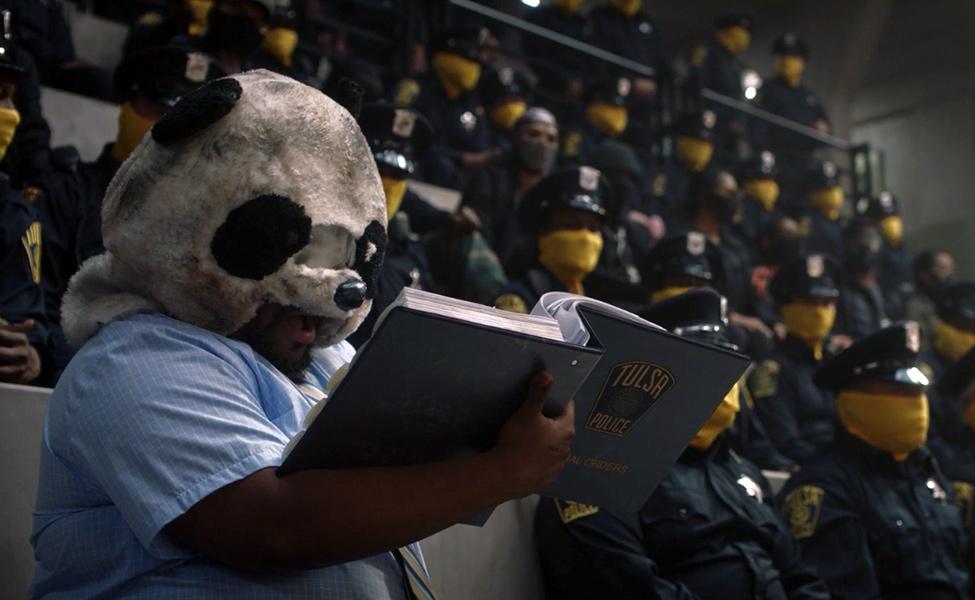 Panda from Watchmen