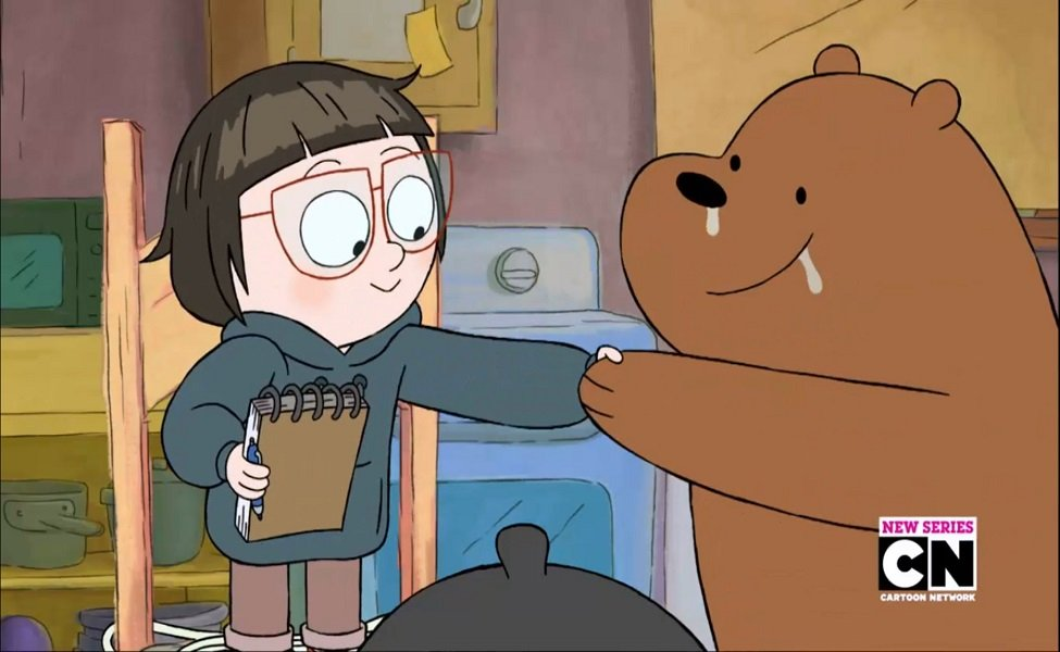 Chloe Park from We Bare Bears