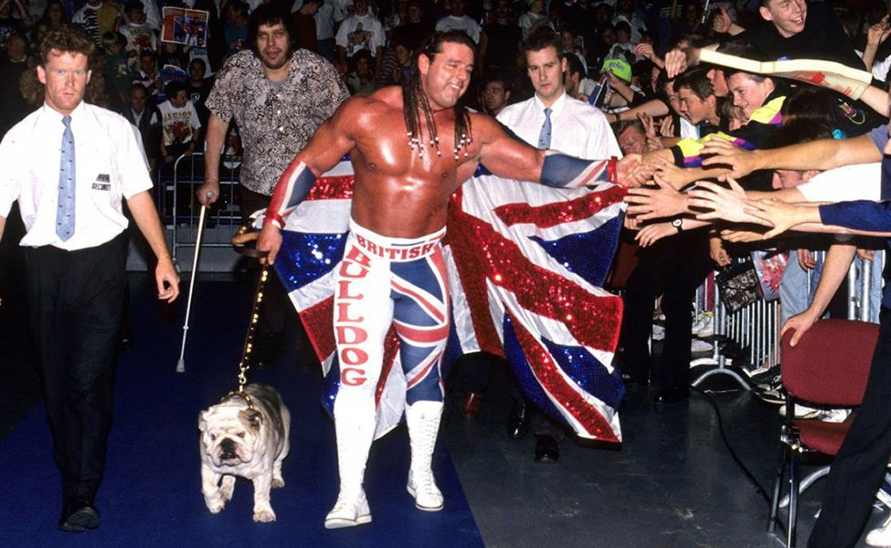 Davey Boy Smith, The British Bulldog