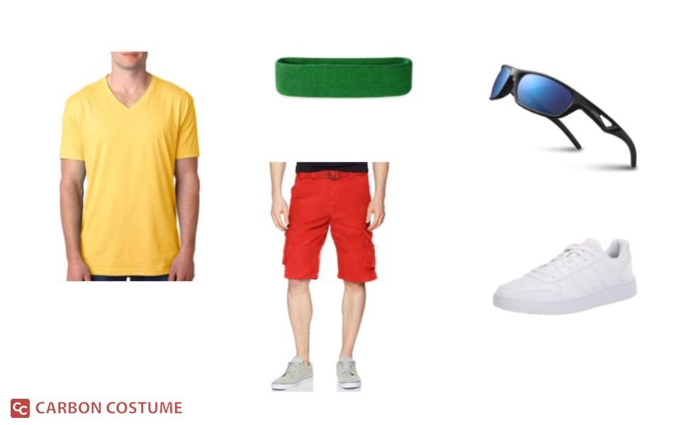 Otto from Rocket Power Costume