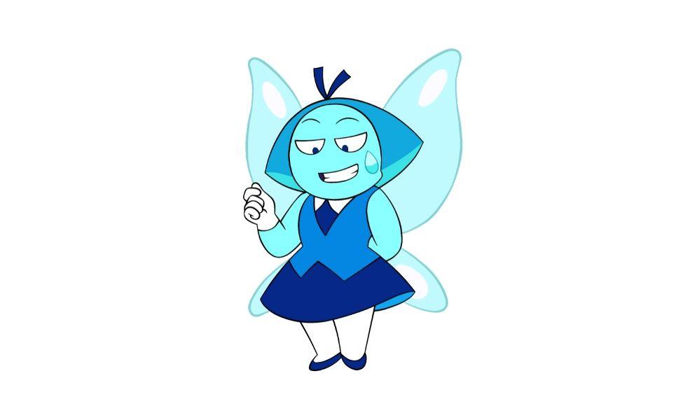 Aquamarine from Steven Universe