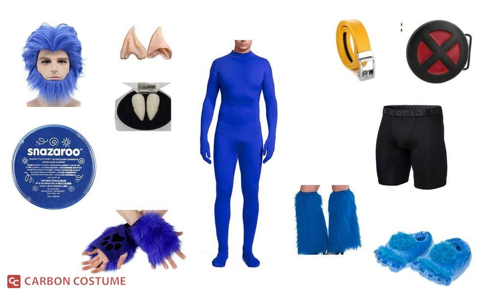 Beast from X-Men Costume