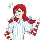 Wendys Mascot