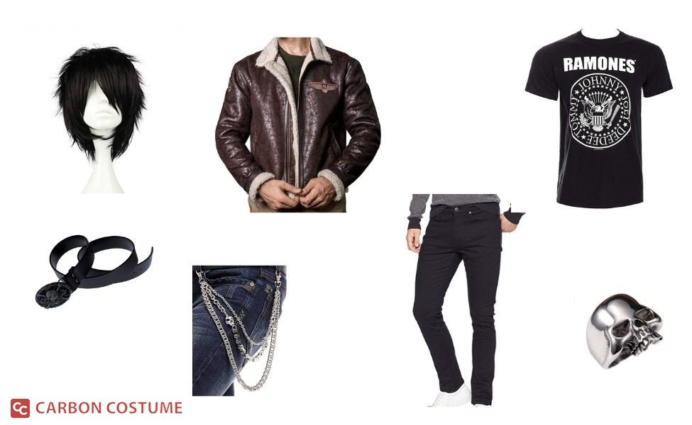 Nico Di Angelo from Percy Jackson Costume