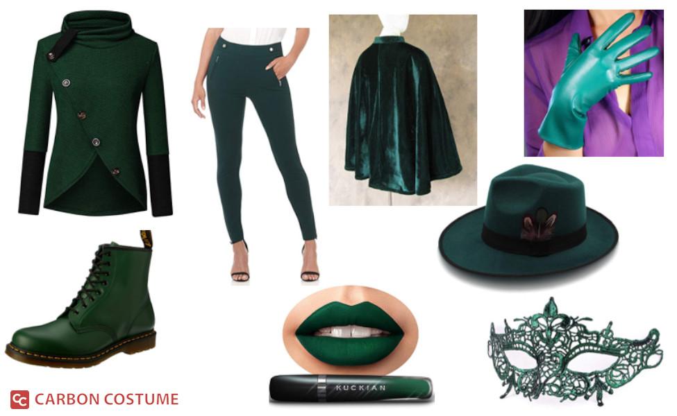 Mulan Kato as Green Hornet Costume