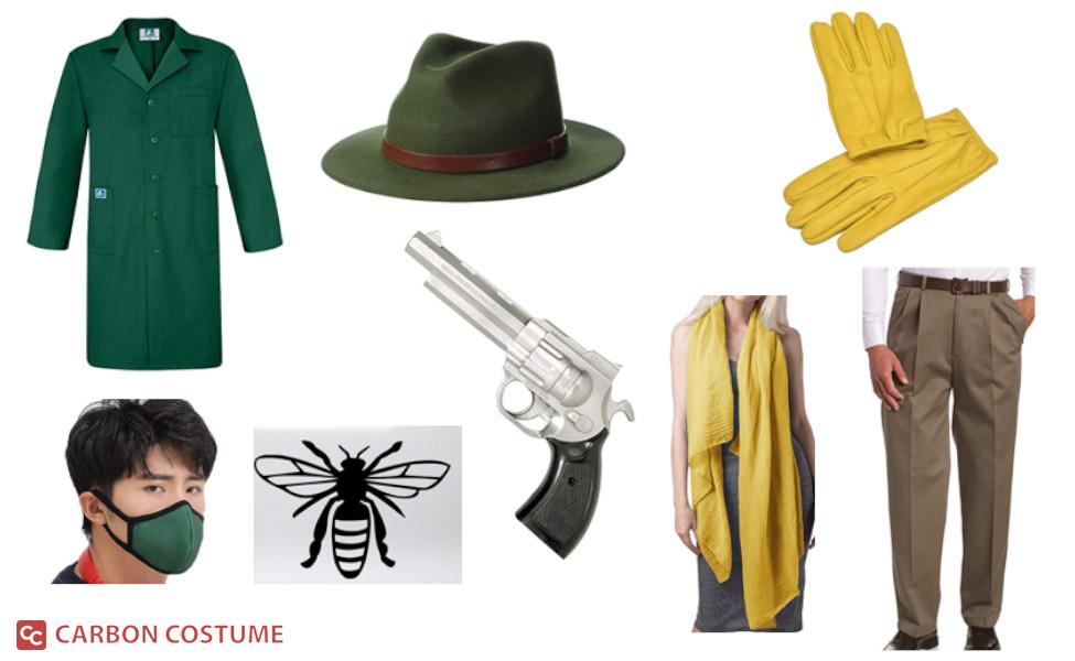 The Green Hornet (1940s) Costume