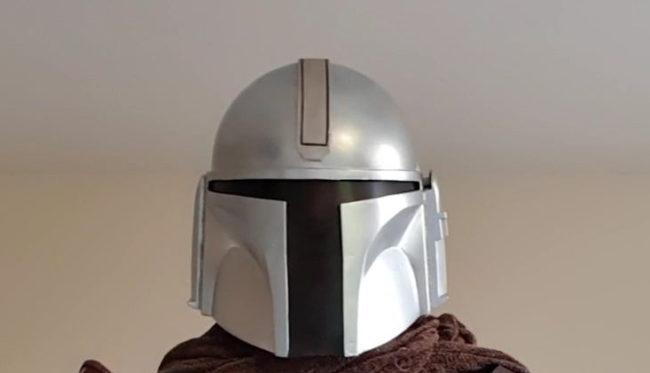 Finished helmet