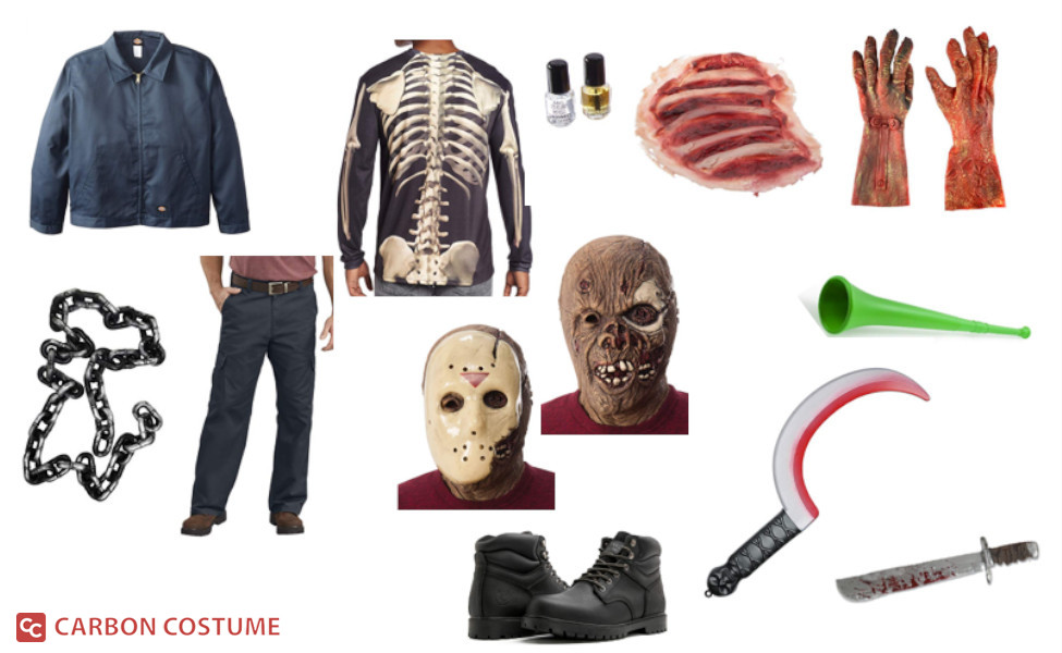 Jason Voorhees from Friday the 13th VII: The New Blood Costume