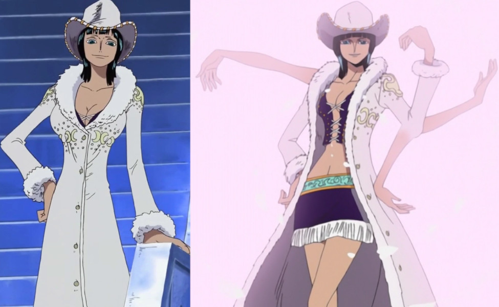 Nico Robin's White Cowboy Outfit from One Piece