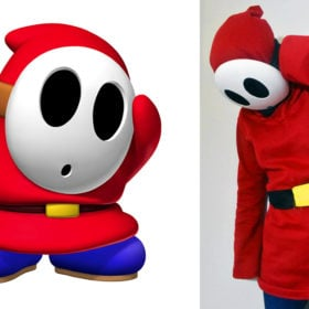 Make Your Own: Shy Guy Hoodie
