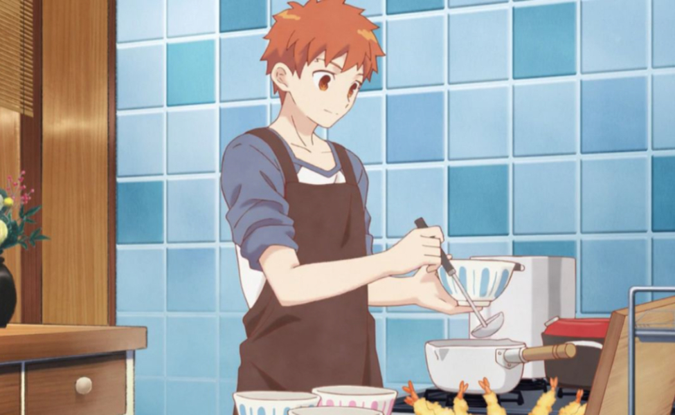 Shirou from Today's Menu for the Emiya Family