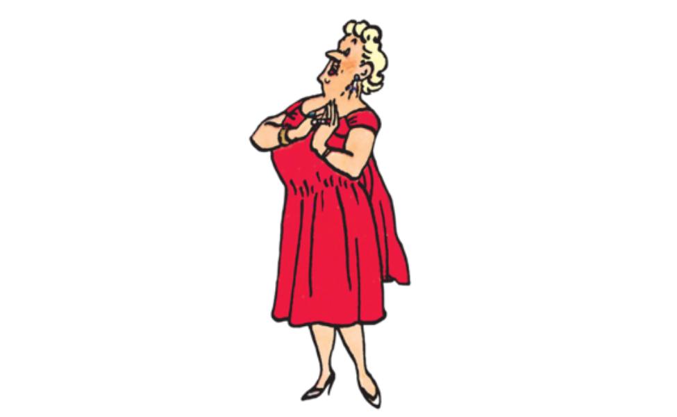 Bianca Castafiore from Tintin
