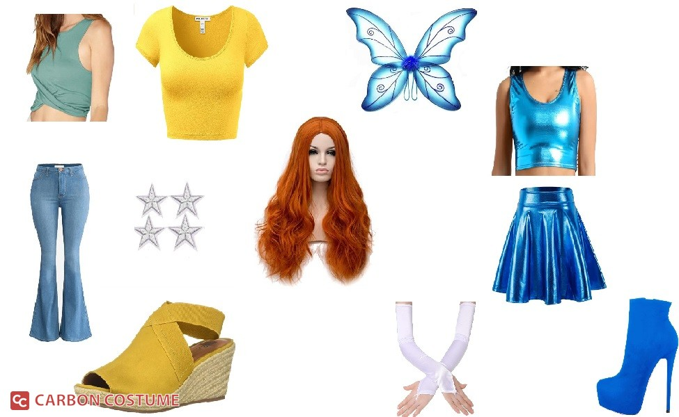 Bloom from Winx Club Costume