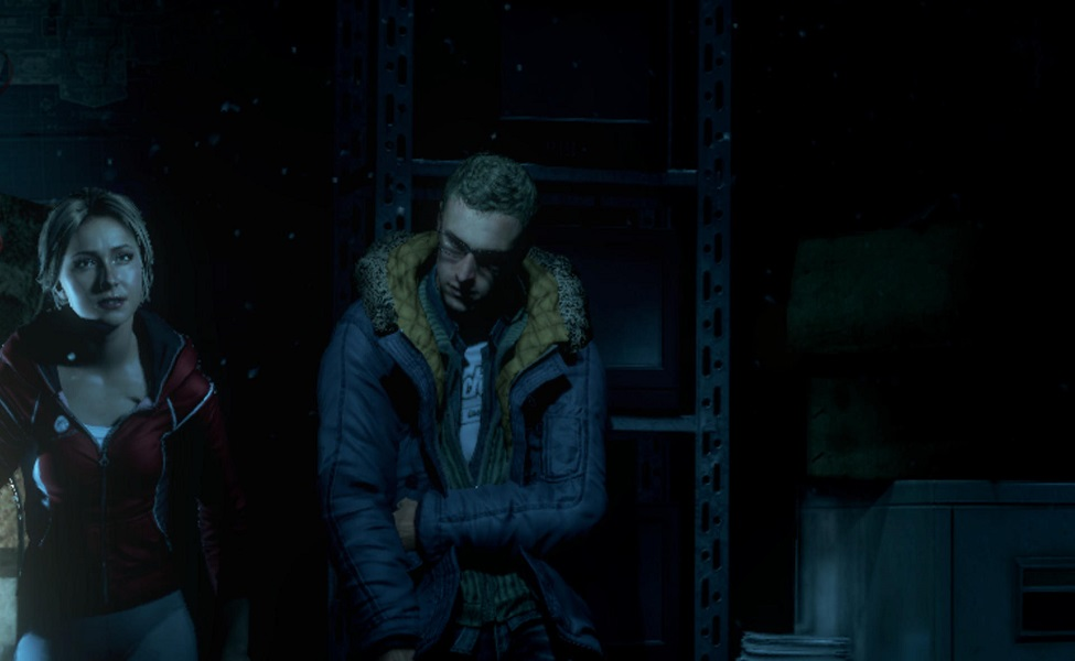 Chris from Until Dawn