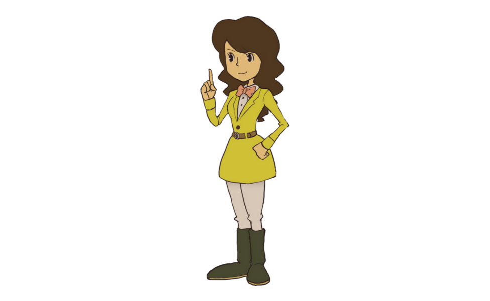 Emmy Altava from Professor Layton