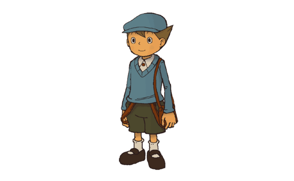 Luke Triton from Professor Layton