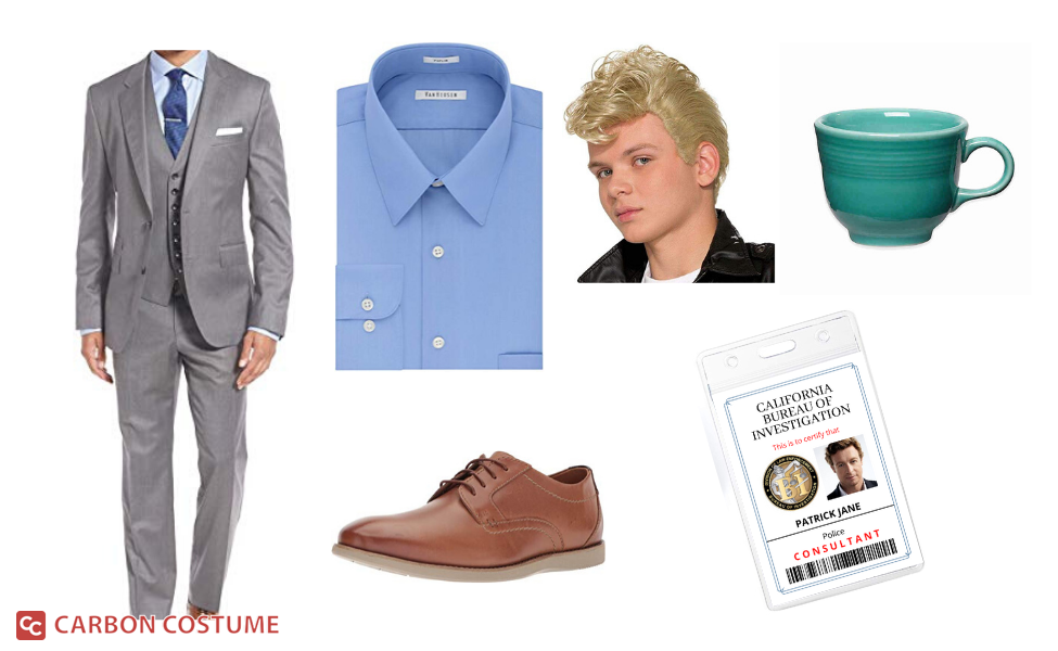 Patrick Jane from The Mentalist Costume