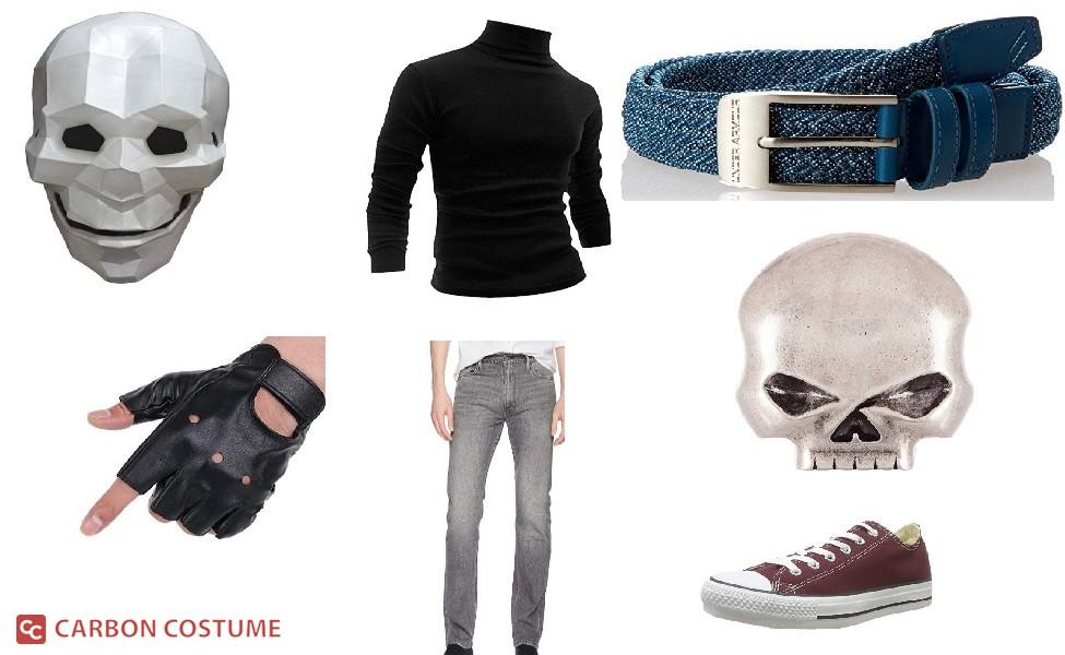Skull Boy from Ruby Gloom Costume