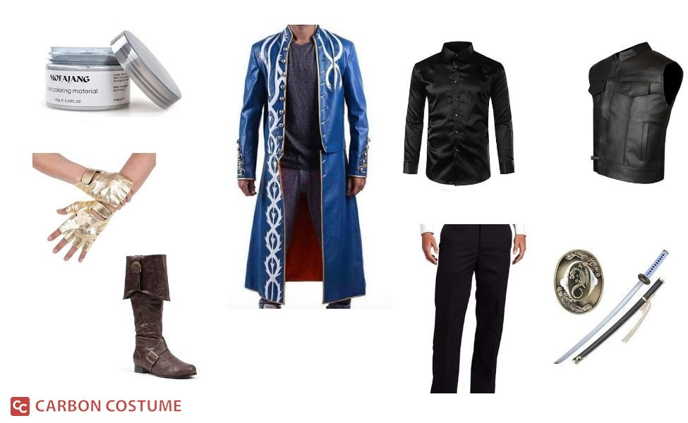 Vergil from Devil May Cry 3 Costume