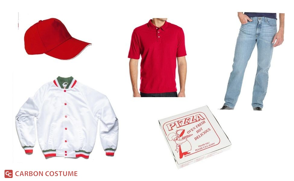 Little Nero's Pizza Delivery Guy from Home Alone Costume