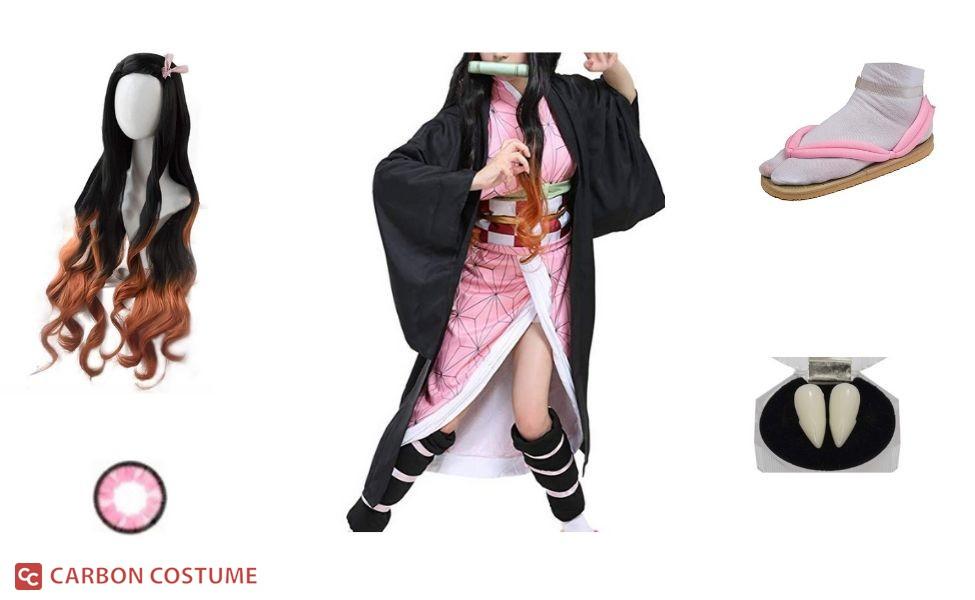 Nezuko Kamado from Demon Slayer Costume