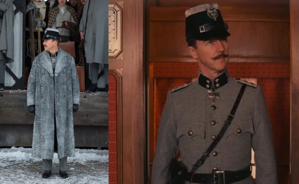 Albert Henckels from The Grand Budapest Hotel