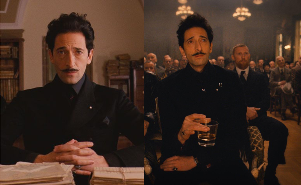 Dmitri from The Grand Budapest Hotel