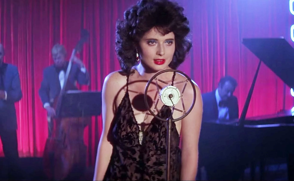 Dorothy Vallens from Blue Velvet