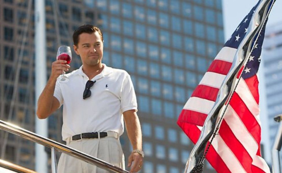Jordan Belfort from The Wolf of Wall Street