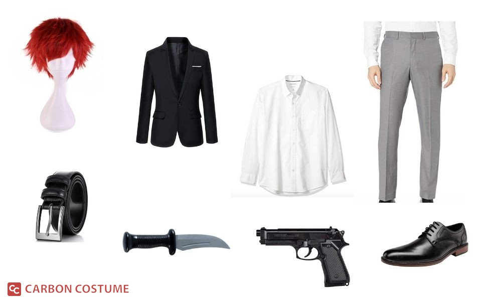 Karma Akabane from Assassination Classroom Costume