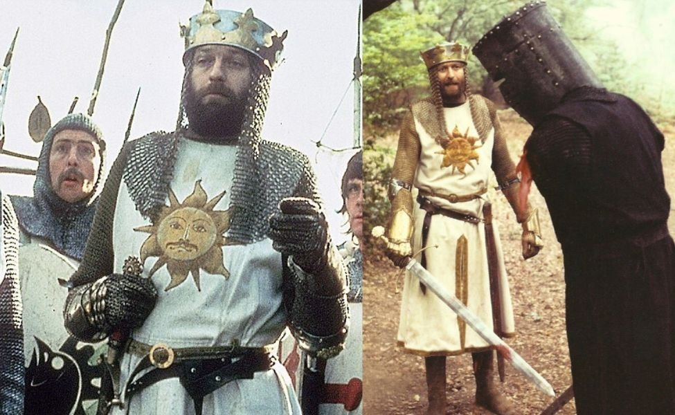 King Arthur from Monty Python and the Holy Grail