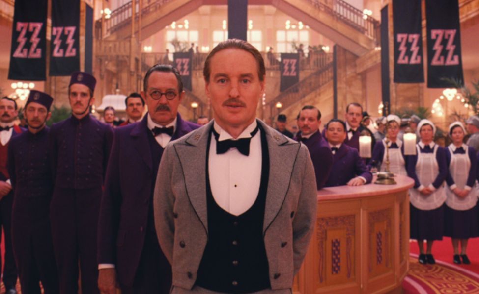 M. Chuck from The Grand Budapest Hotel