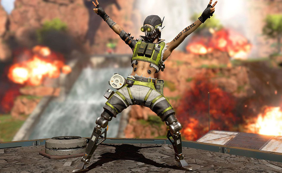 Octane from Apex Legends