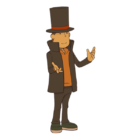 Professor Layton from the Professor Layton games