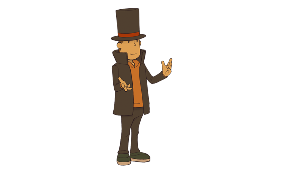 Professor Hershel Layton from the Professor Layton Series
