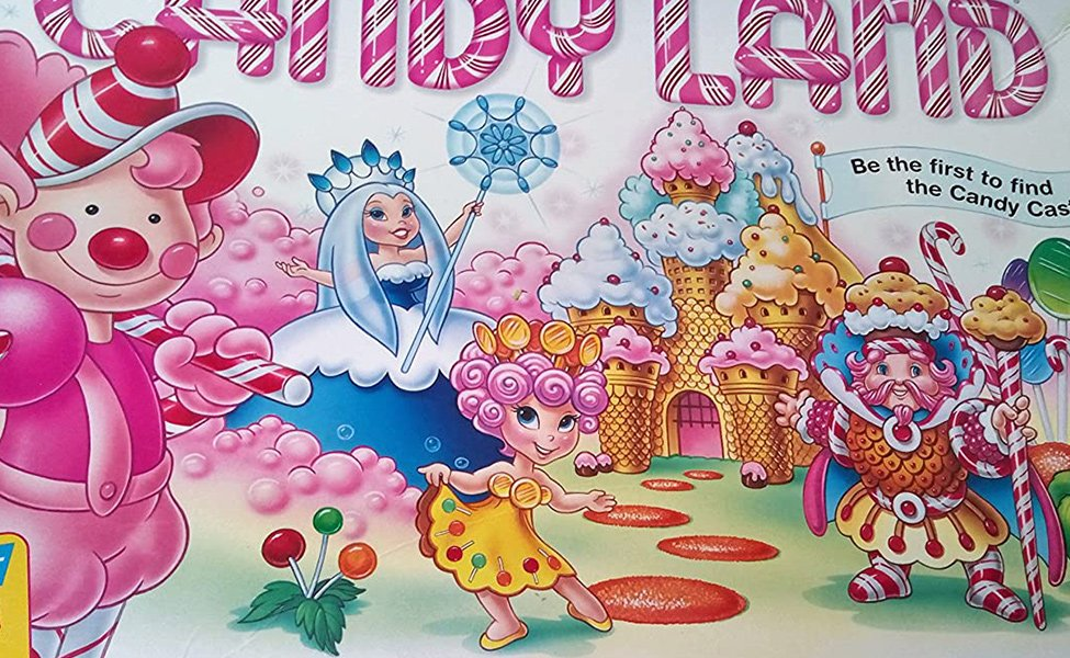 Queen Frostine from Candyland