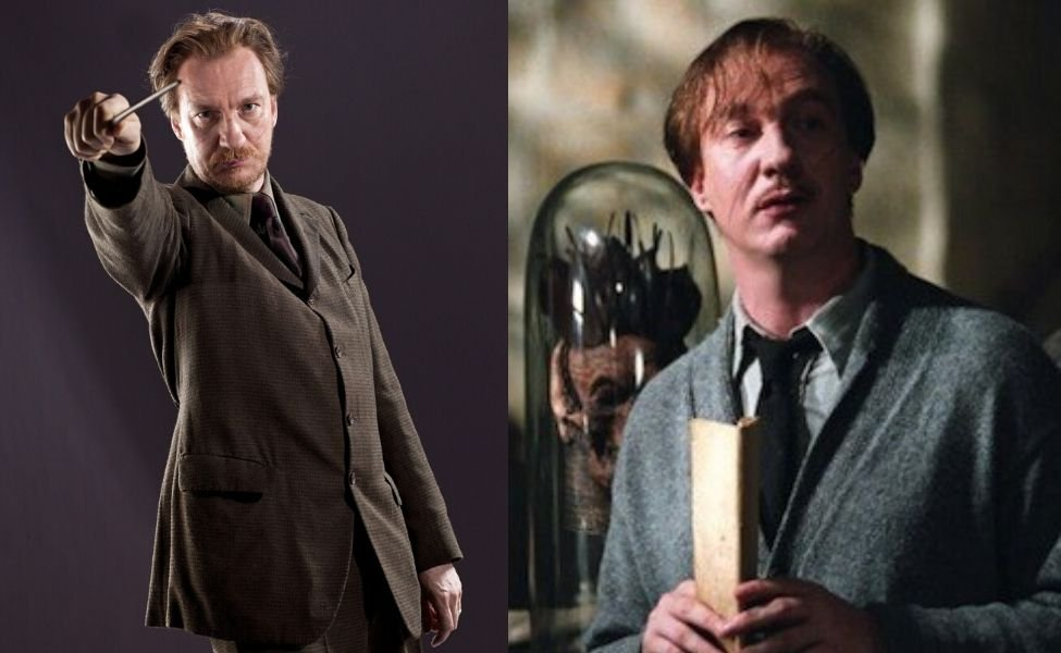 Remus Lupin from Harry Potter