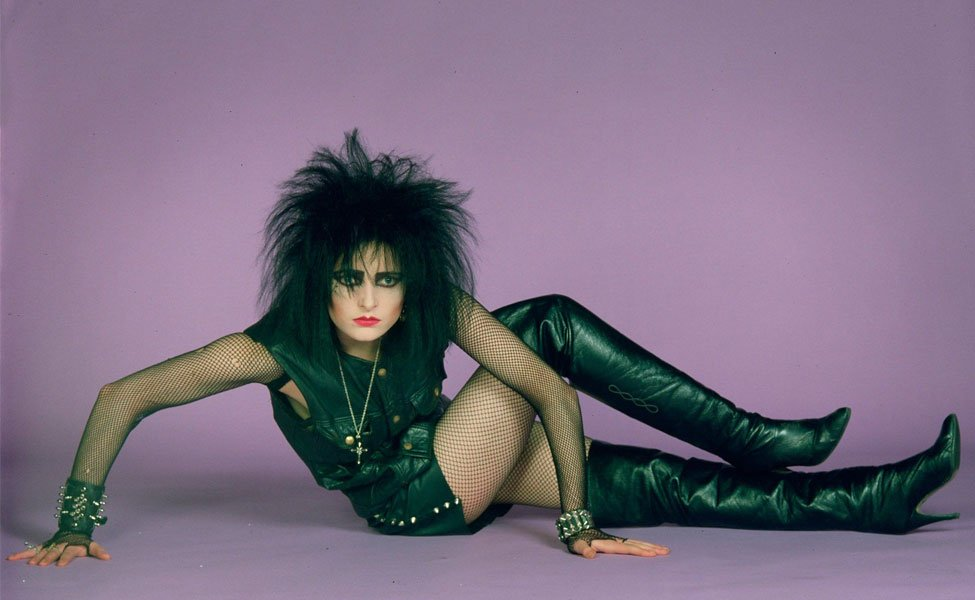 Siouxsie Sioux from Siouxsie and the Banshees