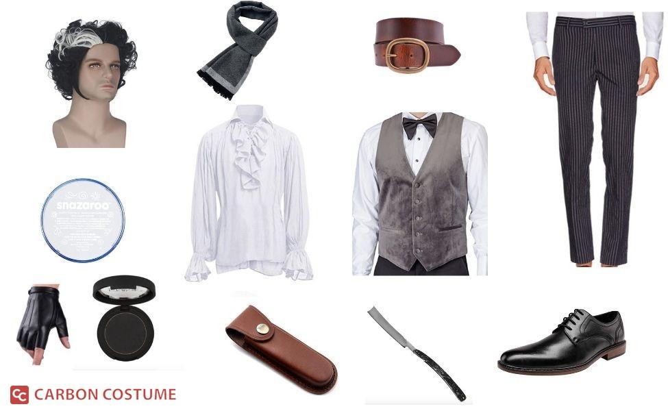 Benjamin Barker/Sweeney Todd Costume