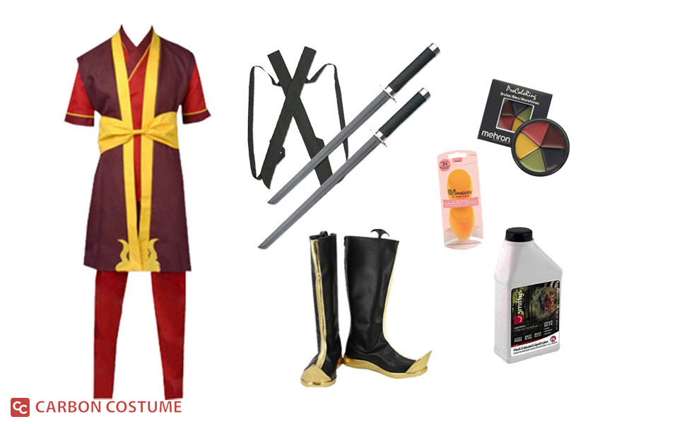 Prince Zuko from Avatar: The Last Airbender Costume