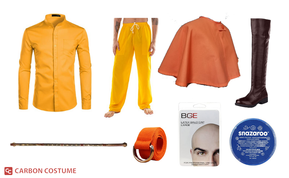 Aang from Avatar: The Last Airbender Costume