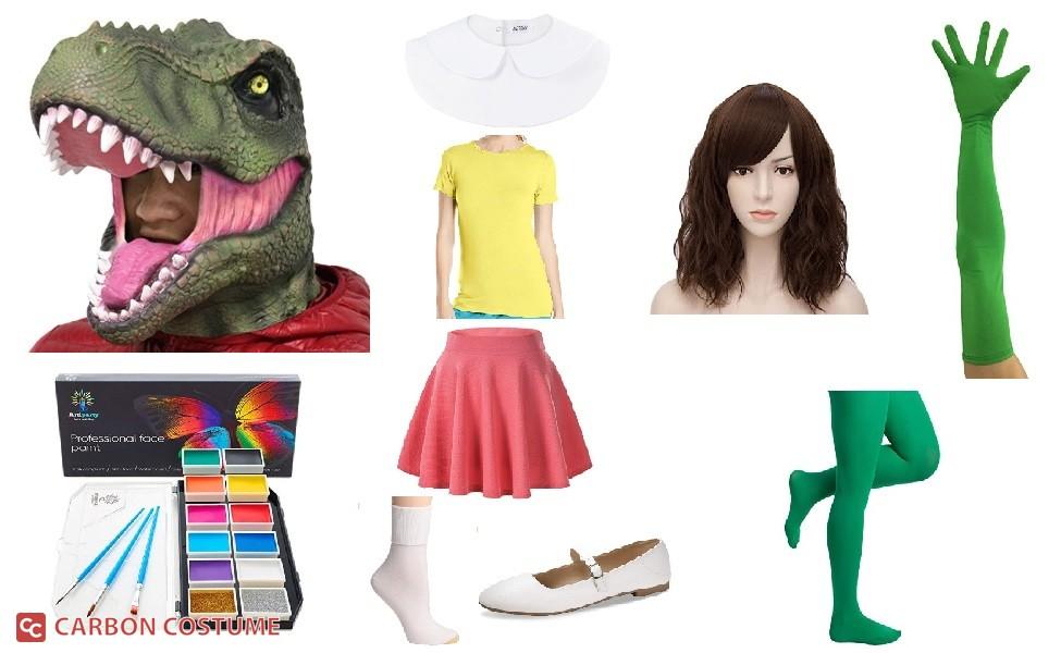 Gauko from Dino Girl Gauko Costume