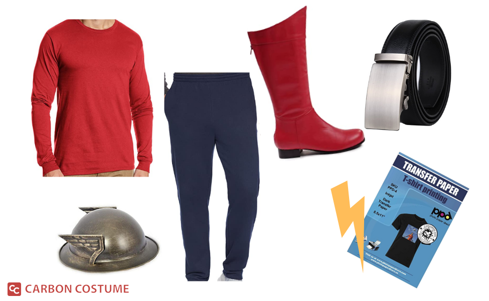 Jay Garrick from The Flash Costume